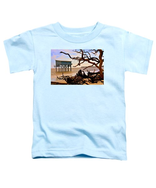Little Blue Hunting Island State Park Beaufort Sc Toddler T-Shirt