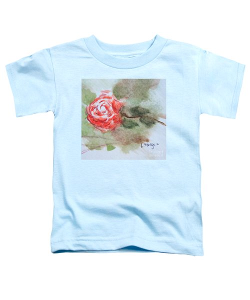 Little Rose Toddler T-Shirt
