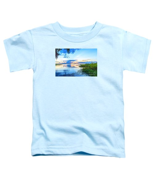 Toddler T-Shirt featuring the photograph Lochloosa Lake by Anthony Baatz