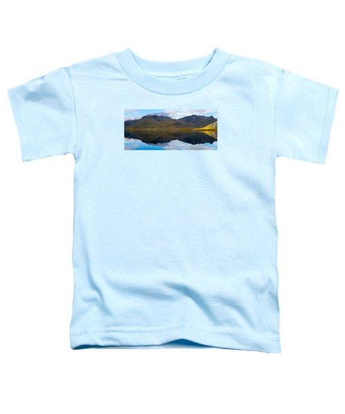 Lofoten Lake Toddler T-Shirt