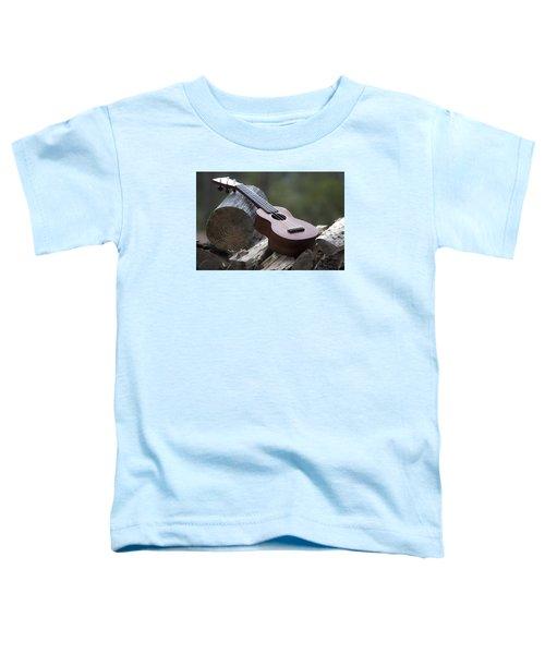 Logpile Ukulele Toddler T-Shirt