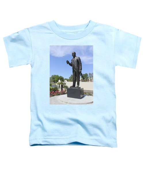 Louis Armstrong Sculpture In New Orleans 30 Toddler T-Shirt