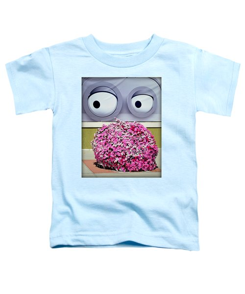 Look At Those Flowers Toddler T-Shirt
