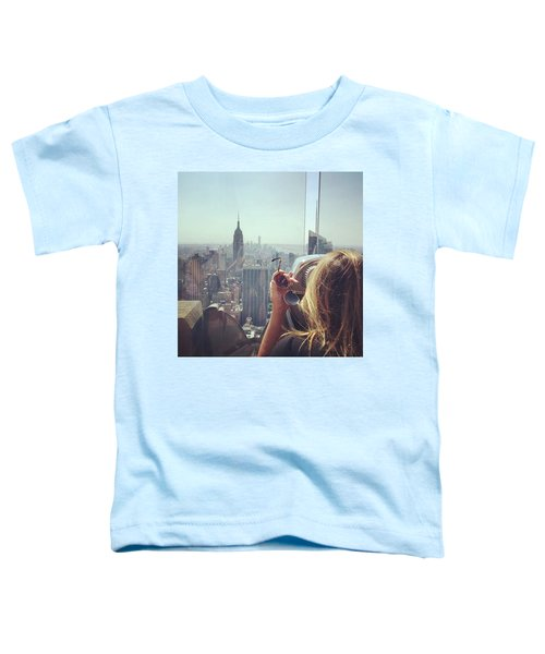 Looking Downtown In Style. #nyc Toddler T-Shirt