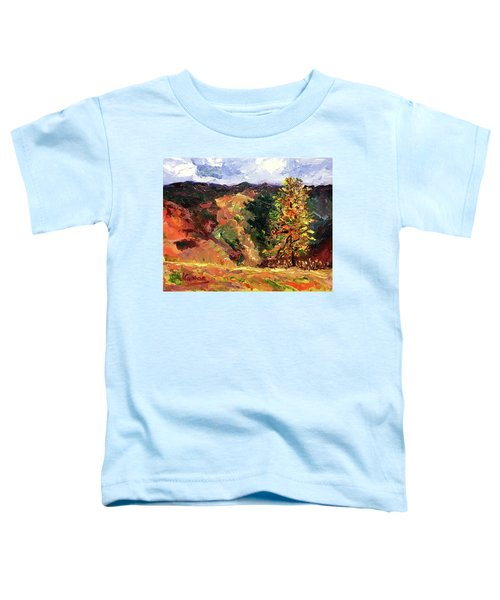 Loose Landscape Toddler T-Shirt