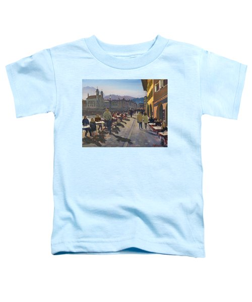 Lunchtime In Luzern Toddler T-Shirt