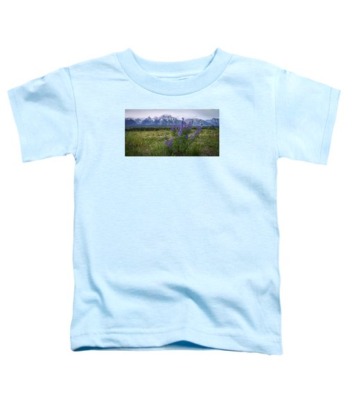 Lupine Beauty Toddler T-Shirt by Chad Dutson