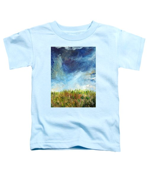 Lying In The Grass Toddler T-Shirt