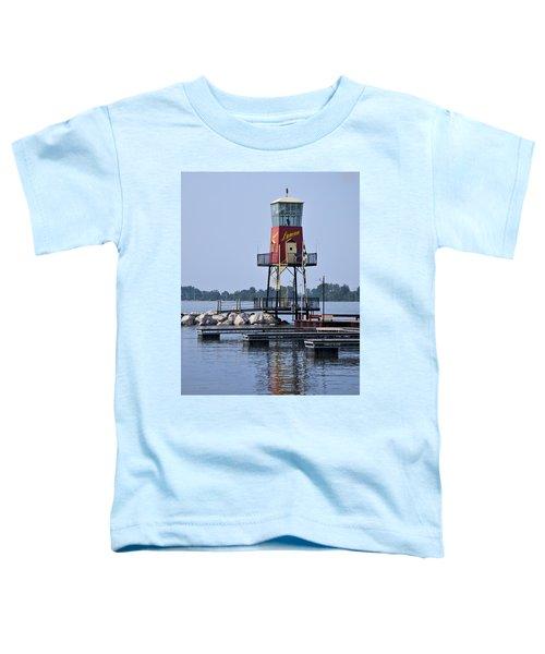 Lyman Harbor Lighthouse Toddler T-Shirt