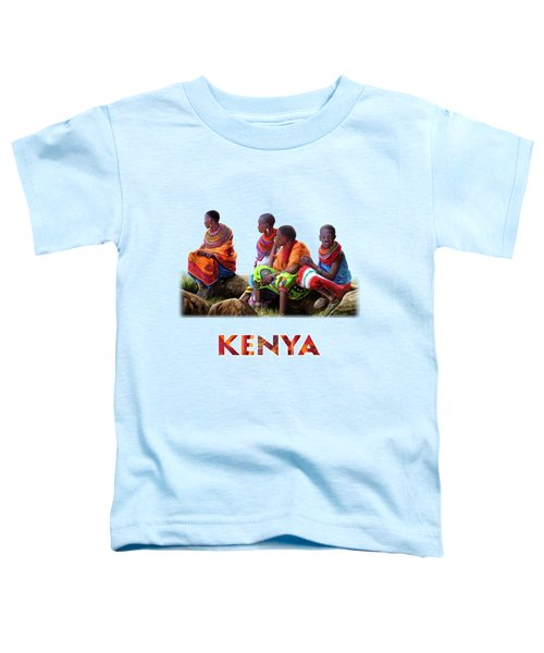 Maasai Women Toddler T-Shirt