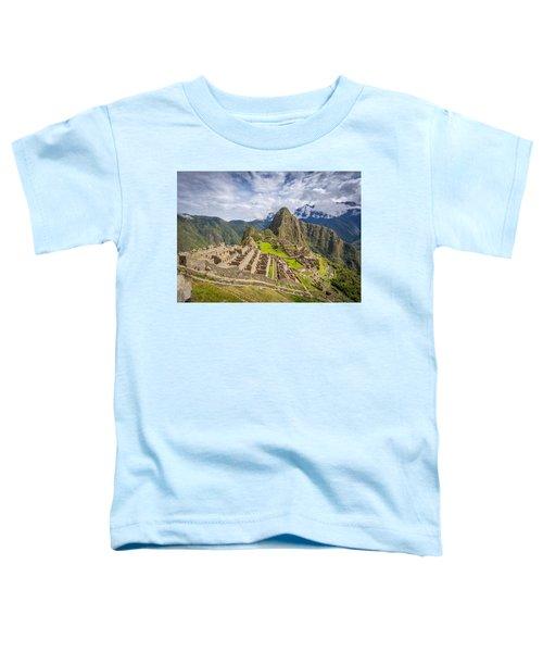 Machu Picchu Peru Toddler T-Shirt