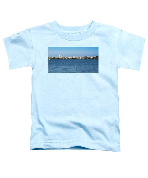 Madison Skyline From Picnic Point Toddler T-Shirt