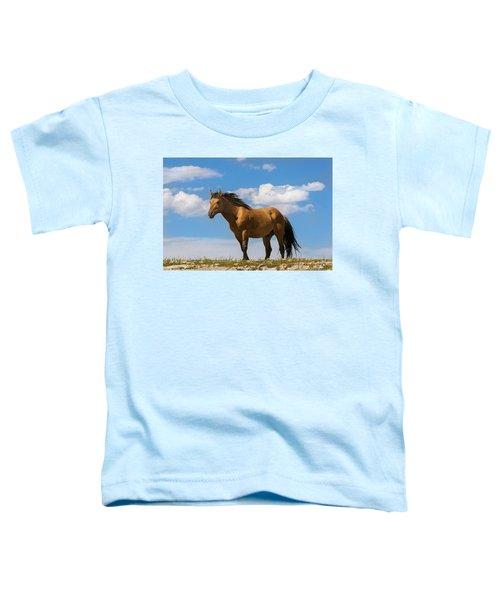 Magnificent Wild Horse Toddler T-Shirt