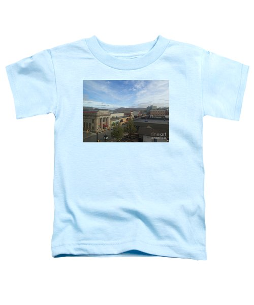 Main St To The Mountains   Toddler T-Shirt