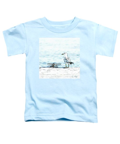Maine Seagull Toddler T-Shirt