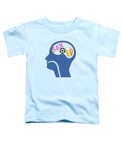 Male Psyche Toddler T-Shirt