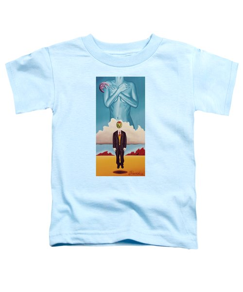 Man Dreaming Of Woman Toddler T-Shirt