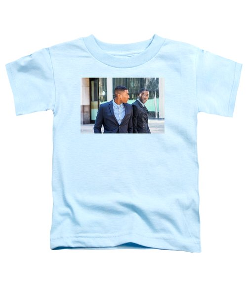 Man Looking At Mirror Toddler T-Shirt
