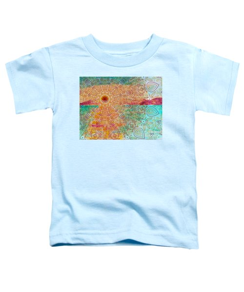 Mandala Sets Over The Dunes Toddler T-Shirt