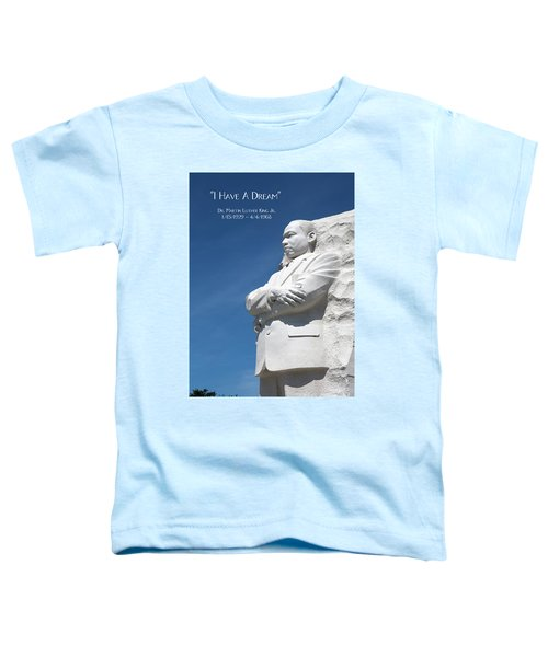 Martin Luther King Jr. Monument Toddler T-Shirt