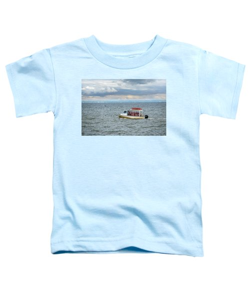 Maryland Crab Boat Fishing On The Chesapeake Bay Toddler T-Shirt