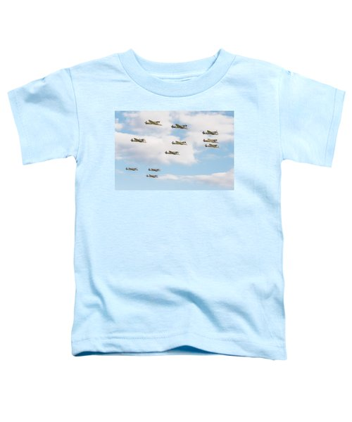 Massed Spitfires Toddler T-Shirt