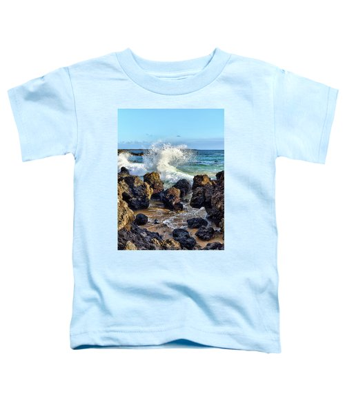 Maui Wave Crash Toddler T-Shirt