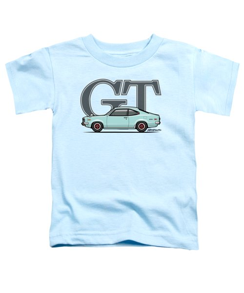 Mazda Savanna Gt Rx-3 Baby Blue Toddler T-Shirt