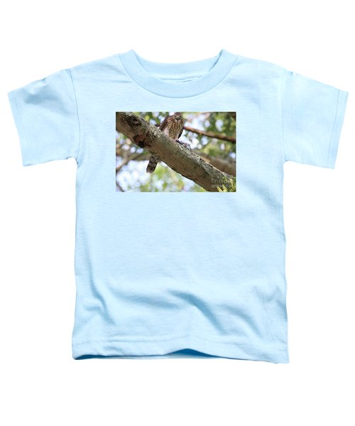 Mean Hawk At Dinner Time Toddler T-Shirt