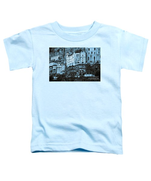 Medieval Castle In The Pilgrimage Town Of Rocamadour Toddler T-Shirt