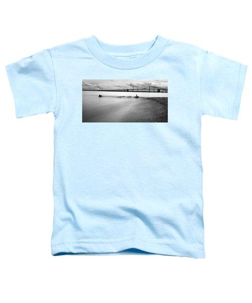 Meditating Sea Gull Toddler T-Shirt