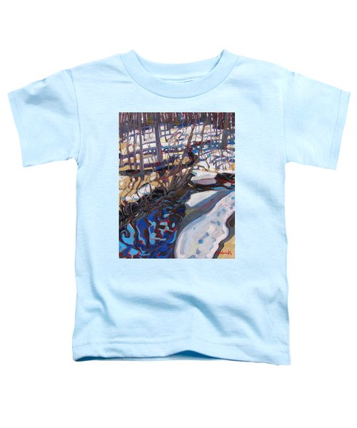 Melt Water And Ice At The Forest Edge Toddler T-Shirt