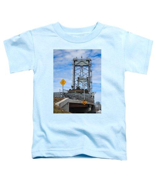 Memorial Bridge Portsmouth  Nh Toddler T-Shirt