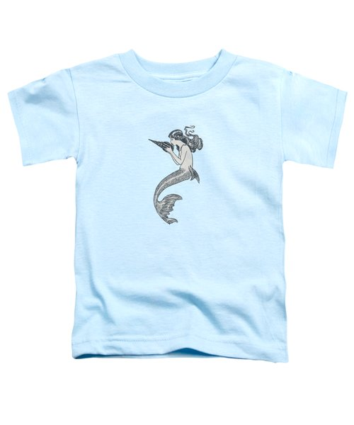 Mermaid - Nautical Design Toddler T-Shirt