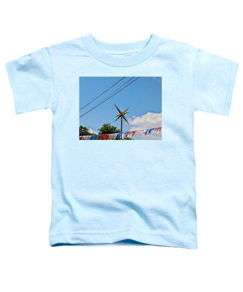 Metal Star In The Sky Toddler T-Shirt