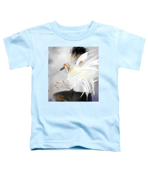 Michael Jackson 08 Toddler T-Shirt by Miki De Goodaboom