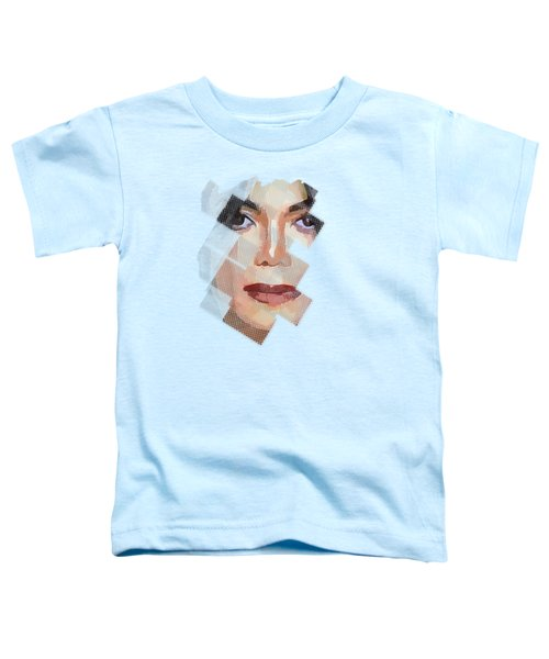 Michael Jackson T Shirt Edition  Toddler T-Shirt by Yury Malkov