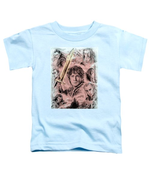 Middle Earth Frost Edit Toddler T-Shirt