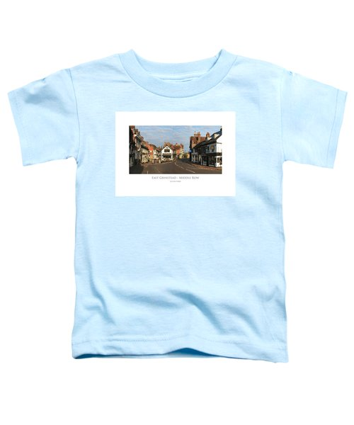 Middle Row East Grinstead Toddler T-Shirt