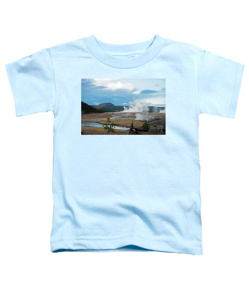 Midway Geyser Area Toddler T-Shirt