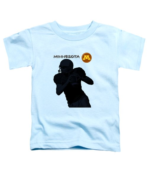 Minnesota Football Toddler T-Shirt by David Dehner