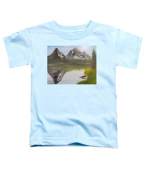 Mirror Mountain Toddler T-Shirt