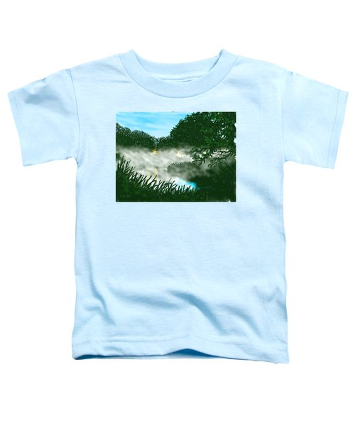 Mist On The River Ouse Toddler T-Shirt