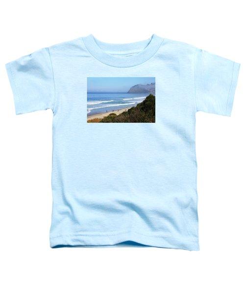Misty Beach Morning Toddler T-Shirt