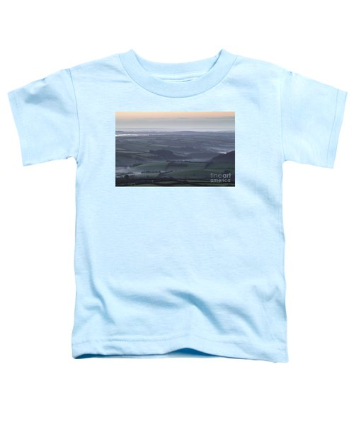 Misty Morning On Exmoor  Toddler T-Shirt