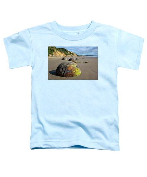 Moeraki Boulders Toddler T-Shirt