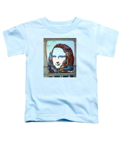 Mona Lisa. Love Toddler T-Shirt