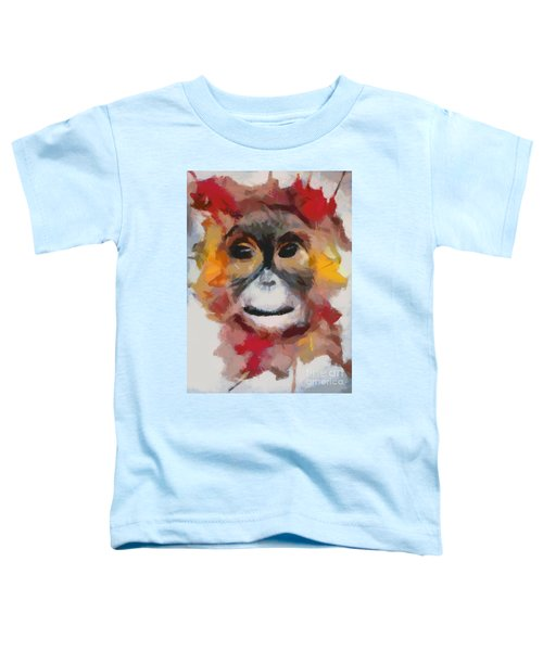 Monkey Splat Toddler T-Shirt