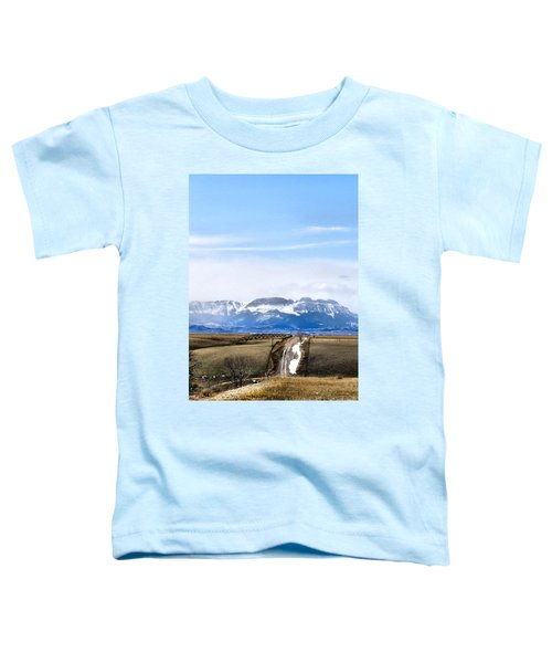 Toddler T-Shirt featuring the photograph Montana Scenery One by Susan Kinney