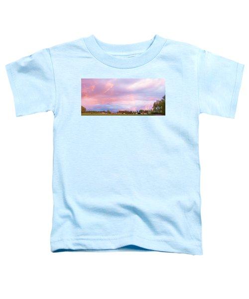 Montana Sunset 1 Toddler T-Shirt
